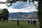 Okanagan Lake from Vernon Seed Orchard